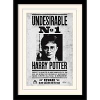 """Постер в раме """"Harry Potter (Undesirable No1)"""" 30 x 40 см"""