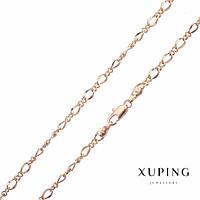 Цепочка Xuping плетение ажурное s-3мм L-45см позолота