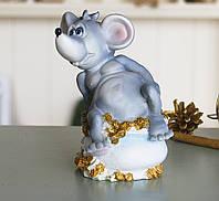 Копилка мышка с деньгами 12*14*9 см Гранд Презент 026 A 022D, фото 1