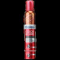 Пенка для волос Balea фиксация 3 цвет и уход 250мл (балеа)