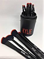 Набор кистей Kylie 12в1 в тубусе