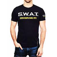 """Футболка """"S.W.A.T."""" BLACK"""
