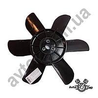 Крыльчатка вентилятора радиатора ВАЗ 2101-07 6 лоп. с метал. втулкой,черная    31088