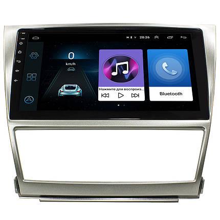 """Штатная автомобильная магнитола 10"""" Toyota Camry (2006-2011 г.) сенсор 2/32 Гб Android (Американка), фото 2"""
