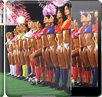 "Чехол на iPad 5 (Air) Любимая футбольная команда ""2177c-26"""