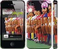 "Чехол на iPhone 4 Любимая футбольная команда ""2177c-15"""