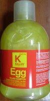 Шампунь Каllos Egg  - яичный для сухих и нормальный волос. 1000мл.