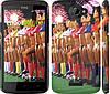 "Чехол на HTC One X+ Любимая футбольная команда ""2177c-69"""