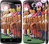 "Чехол на Lenovo S820 Любимая футбольная команда ""2177c-52"""
