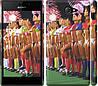 """Чехол на Sony Xperia M2 dual D2302 Любимая футбольная команда """"2177c-61"""""""