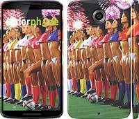 """Чехол на Motorola Nexus 6 Любимая футбольная команда """"2177c-67"""""""
