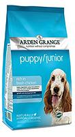 Сухой корм Arden Grange Puppy и Junior курица и рис для щенков и молодых собак всех пород