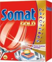 Таблетки для посудомоечных машин   SOMAT GOLD 66 шт.