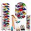 Полка для обуви Amazing Shoe Rack органайзер 10 полок на 30 пар обувница стеллаж стойка модульный хит, фото 2