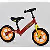 """Детский велобег """"Corso"""" стальная рама, колесо 12"""" EVA (ПЕНА) в цветах, фото 2"""
