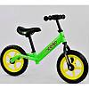 """Детский велобег """"Corso"""" стальная рама, колесо 12"""" EVA (ПЕНА) в цветах, фото 8"""