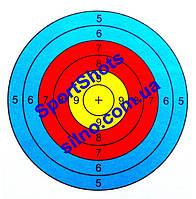 Мишень картонная Triple 50 шт/пчк для пневматического оружия