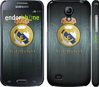 "Чехол на Samsung Galaxy S4 mini Real Madrid 3 ""995c-32"""