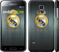 "Чехол на Samsung Galaxy S5 mini G800H Real Madrid 3 ""995c-44"""