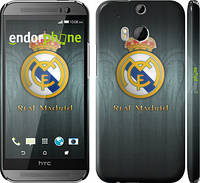 "Чехол на HTC One M8 Real Madrid 3 ""995c-30"""