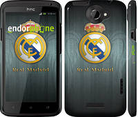 "Чехол на HTC One X+ Real Madrid 3 ""995c-69"""