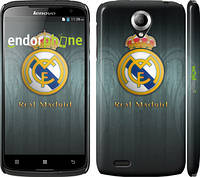 "Чехол на Lenovo S820 Real Madrid 3 ""995c-52"""