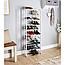 Полка для обуви Amazing Shoe Rack органайзер 10 полок на 30 пар обувница стеллаж стойка модульный хит, фото 3