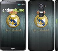"""Чехол на LG G2 Real Madrid 3 """"995c-37"""""""