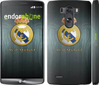 """Чехол на LG G3 dual D856 Real Madrid 3 """"995c-56"""""""