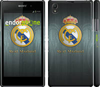 "Чехол на Sony Xperia Z1 C6902 Real Madrid 3 ""995c-38"""