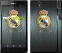 "Чехол на Sony Xperia Z C6602 Real Madrid 3 ""995c-40"""