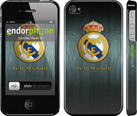 "Чехол на iPhone 4 Real Madrid 3 ""995c-15"""
