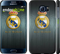 "Чехол на Samsung Galaxy S6 G920 Real Madrid 3 ""995c-80"""