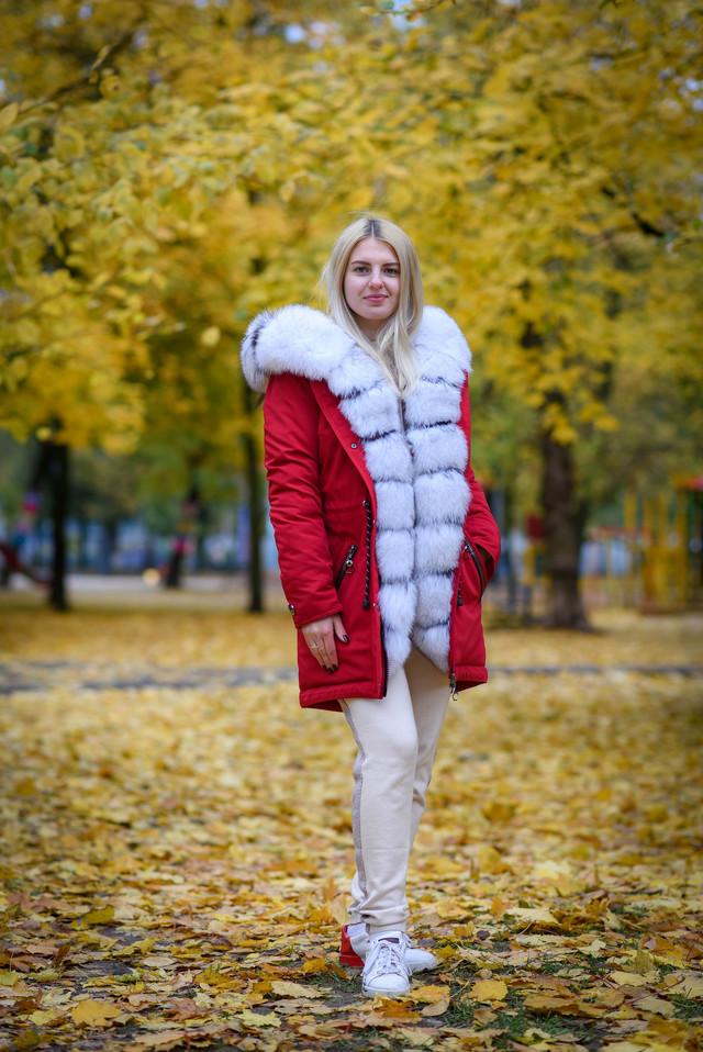 Женская парка купить недорого  в интернете leashop.com.ua