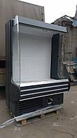 Холодильная горка Модена Росс 1,4м. б у, регал холодильный б у, фото 1