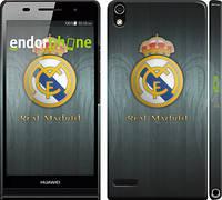 "Чехол на Huawei Ascend P6 Real Madrid 3 ""995c-39"""