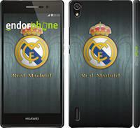"Чехол на Huawei Ascend P7 Real Madrid 3 ""995c-49"""