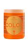 Маска Kallos для окрашенных волос с льняным маслом и ультрафиолетовым фильтром Kallos KJMN Color Hair 1000 мл