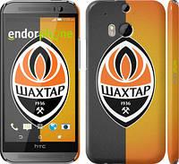 "Чехол на HTC One M8 Шахтёр v3 ""1206c-30"""