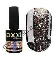 Гель лак Oxxi Star Gel №012 (сріблясто-чорний) 10мл