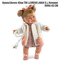 Кукла LLORENS 42260  Ирина 42cм  ТМ LLORENS JUAN S.L   производство Испания IRINA 42 СМ