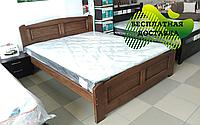 Кровать двуспальная Афродита из массива бука. ТМ Дримка