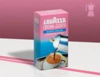 Кава мелена Lavazza Crema e Gusto Dolce 250 гр.   Кофе молотый Лавацца Крема Густо Долче 250г