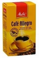 Кофе молотый Melitta Cafe Allegro 250 гр.   Кофе мелитта алегро 250г