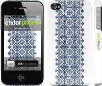 """Чехол на iPhone 4 Вышиванка 11 """"578c-15"""""""