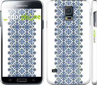 "Чехол на Samsung Galaxy S5 g900h Вышиванка 11 ""578c-24"""