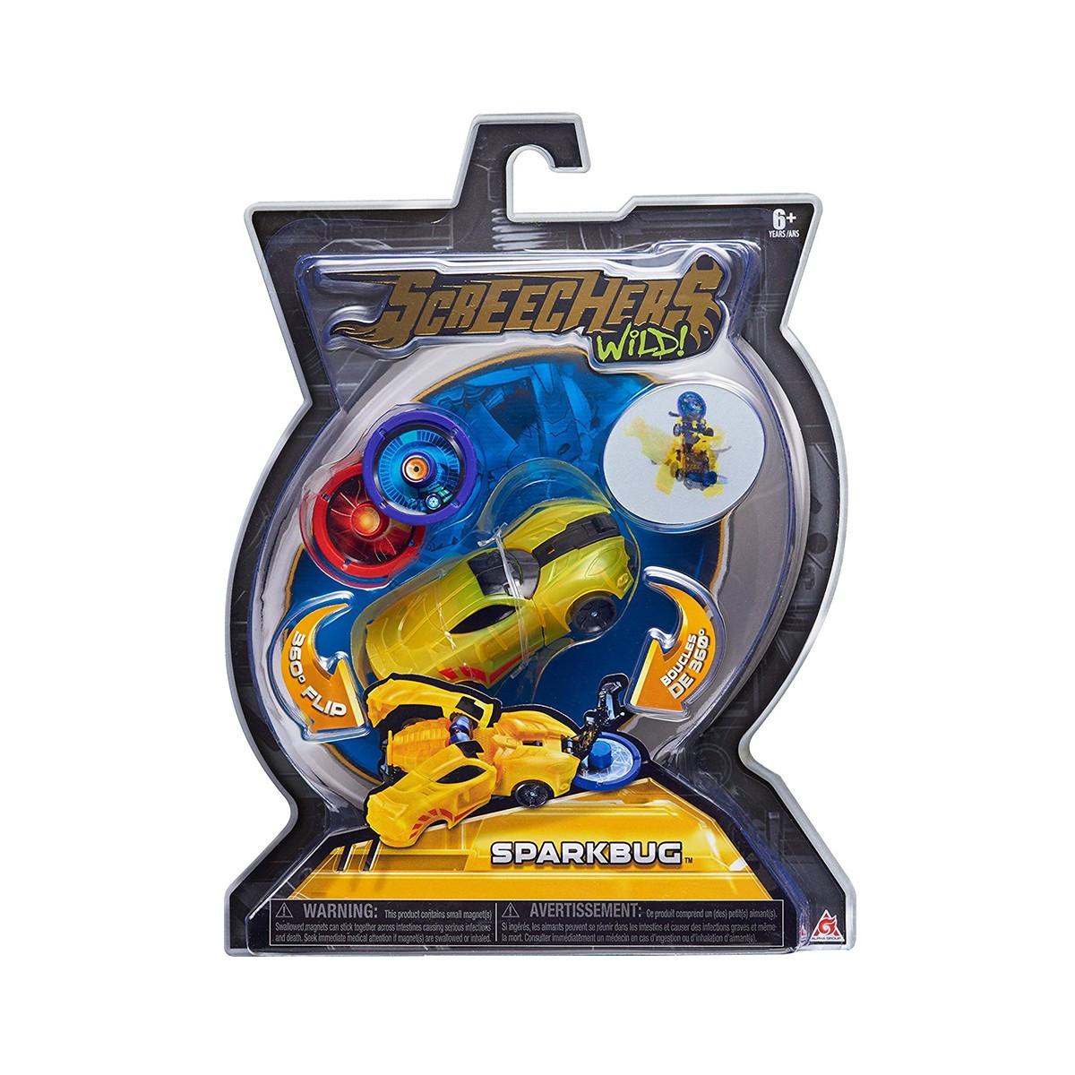 Дикі Скричеры Спаркбаг Sparkbug Screechers Wild L-1(оригінал США)
