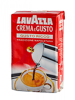 Кава мелена Lavazza Crema E Gusto Ricco 250г (кофе Лавацца )