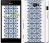 """Чехол на Sony Xperia M2 D2305 Вышиванка 11 """"578c-60"""""""
