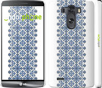 """Чехол на LG G3 dual D856 Вышиванка 11 """"578c-56"""""""
